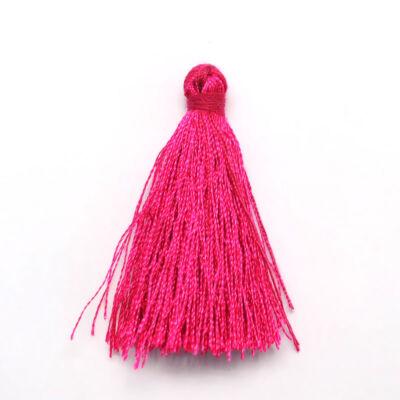 Sötét pink színű zsinórbojt (40mm)