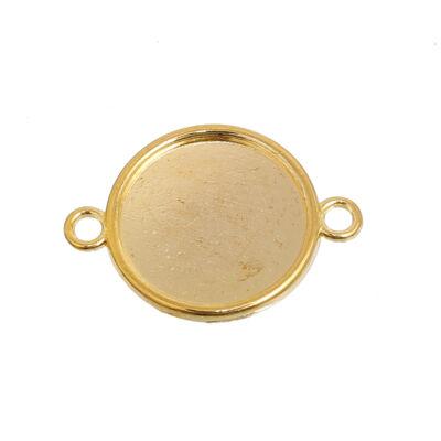 Arany színű kapcsolóelem (14mm)
