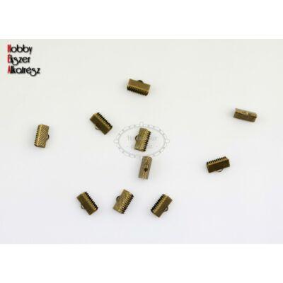 10db antikolt bronz szalagvégzáró (10mm)