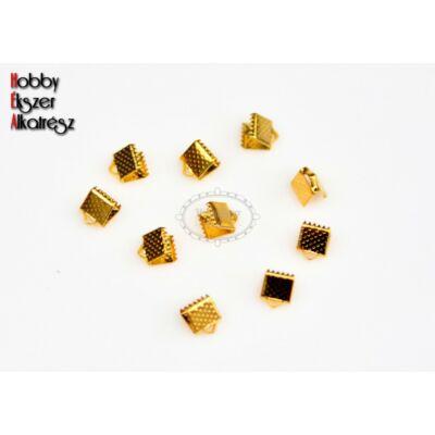10db Arany színű szalagvégzáró (6mm)