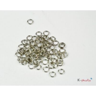 50db Antikolt ezüst szimpla szerelőkarika (5mm)