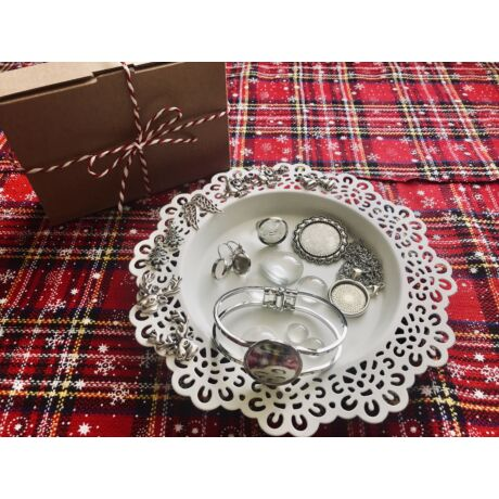 Antikolt ezüst színű alkotócsomag (2)