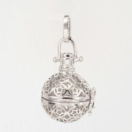 Antikolt ezüst angyalhívó (12)