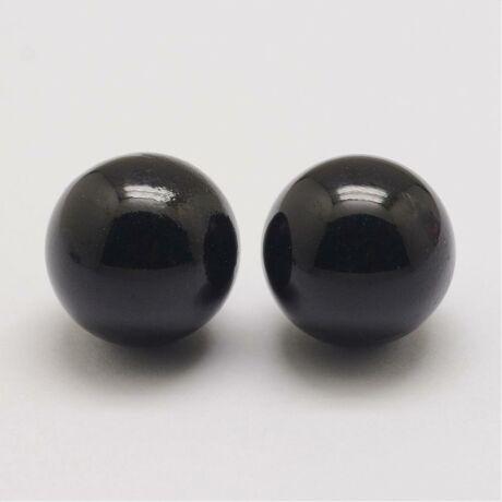 Angyalhívóba való csengő fekete színű golyó (18mm)