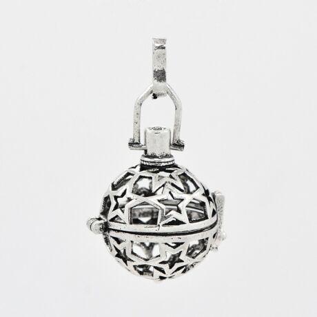 Antikolt ezüst angyalhívó (2)