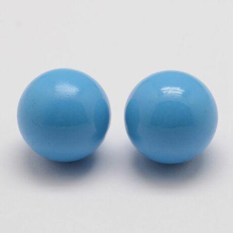 Angyalhívóba való csengő világos kék golyó (16mm)