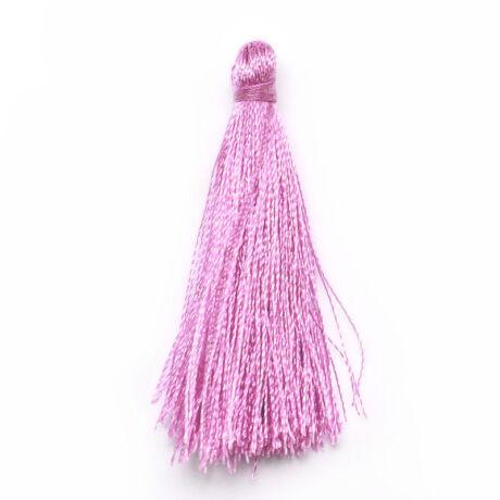 Rózsaszín színű zsinórbojt (40mm)
