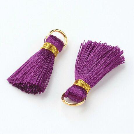 Viola színű cérnabojt (27mm)