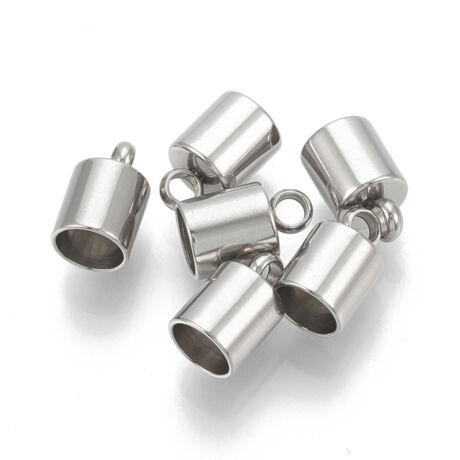 Nemesacél végzáró (15x10mm)