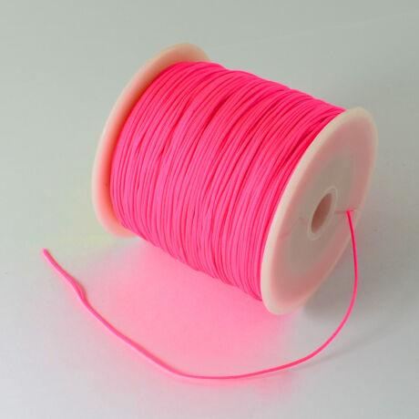 Mély pink nejlon zsinór (0,5mm)