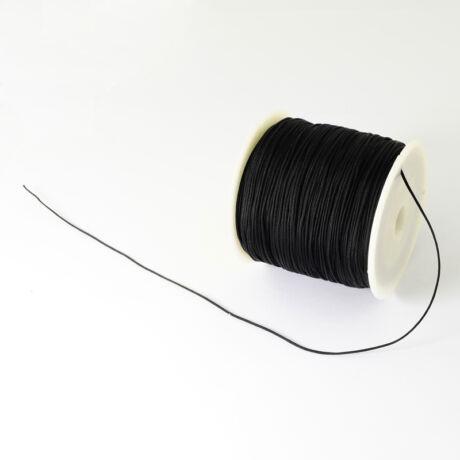 Fekete nejlon zsinór (0,5mm)