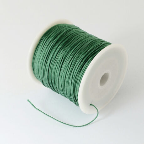 Sötét zöld nejlon zsinór (0,5mm)