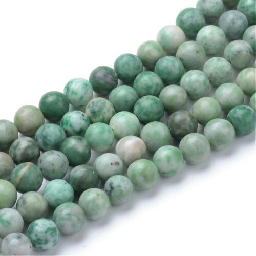 Qinghai jade ásványgyöngy (8mm)/10db