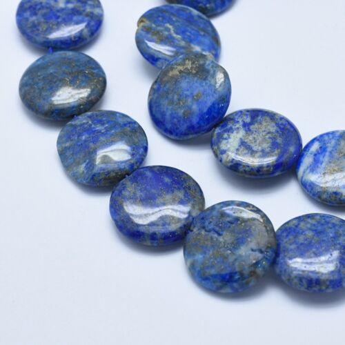 Lapis lazuli lapos ásvány medál (20mm)