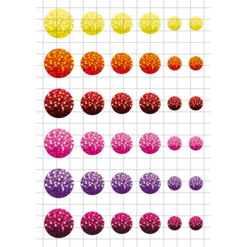 Fények-1 Üveglencsés ékszerpapír több méret A5
