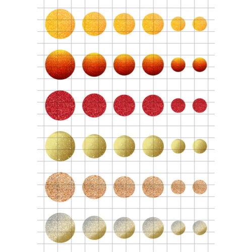 Glitter-2 Üveglencsés ékszerpapír több méret A5