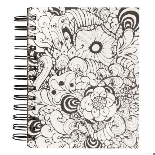 Tangle Memory Journal Orchid ,15.5x18cm, kraft,