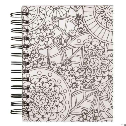 Tangle Memory Journal Flora,15.5x18cm, kraft,