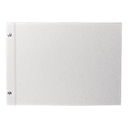 Album fehér csavarozott A4 25 lap 190 g/m2