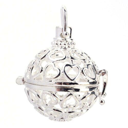 Ezüst színű angyalhívó (3)