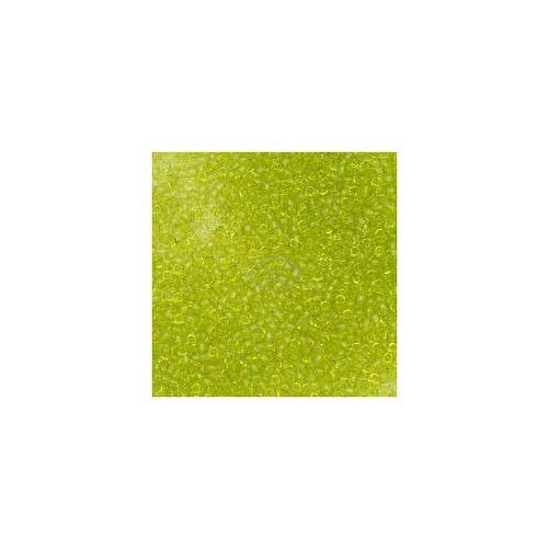 Toho kásagyöngy áttetsző lime zöld (4) 15/0