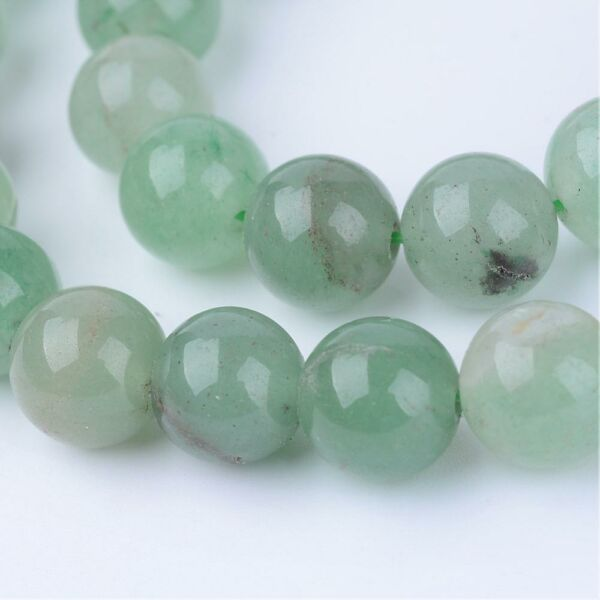 Zöld Aventurin ásványgyöngy (10mm)/1db