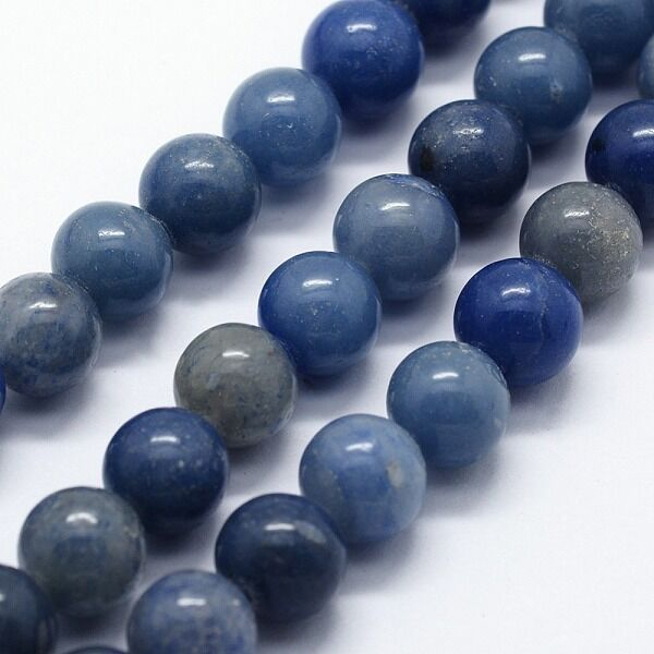 Kék Aventurin ásványgyöngy (4mm)/10db