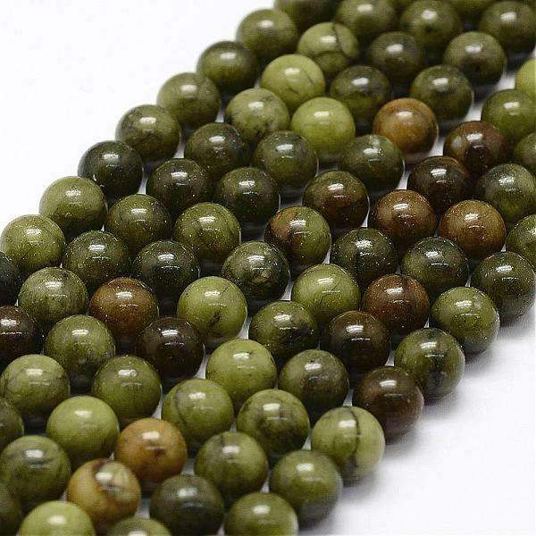 Kínai Jade ásványgyöngy (4mm)/10db