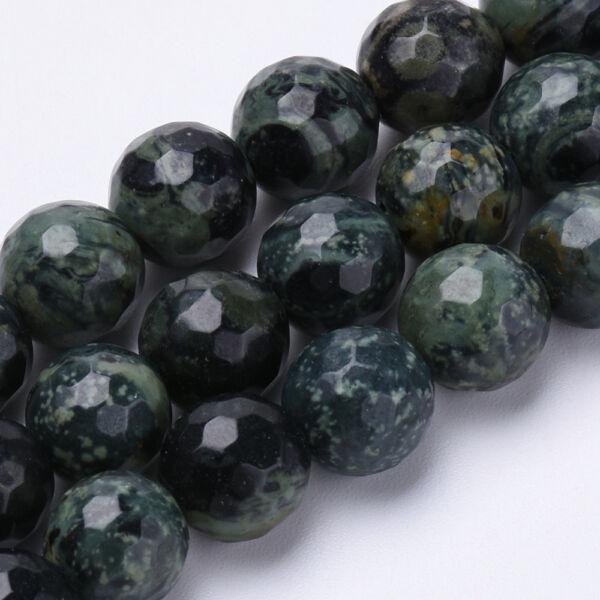 Malachit ásványgyöngy (8mm)/10db