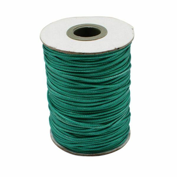 Kékeszöld viaszolt szál (1mm)