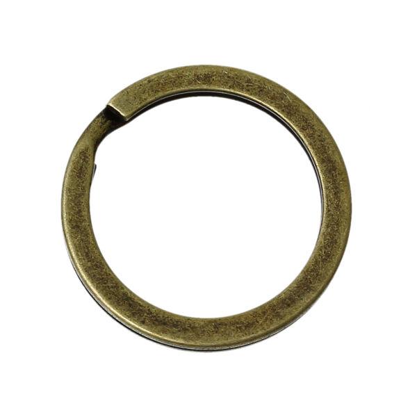 Bronz színű kulcstartókarika