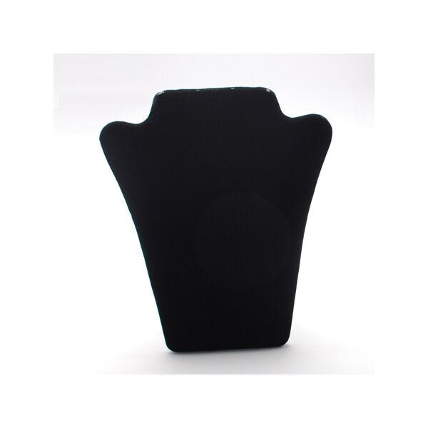 Fekete ékszernyak (lapra csukható)
