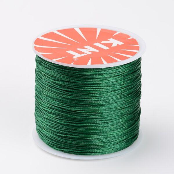 Zöld viaszolt szál (0,5mm)