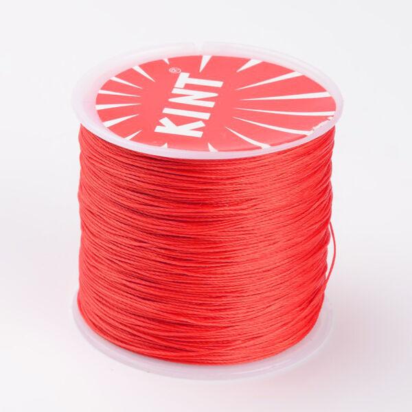 Vörös viaszolt szál (0,5mm)