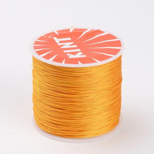 Arany színű viaszolt szál (0,5mm)