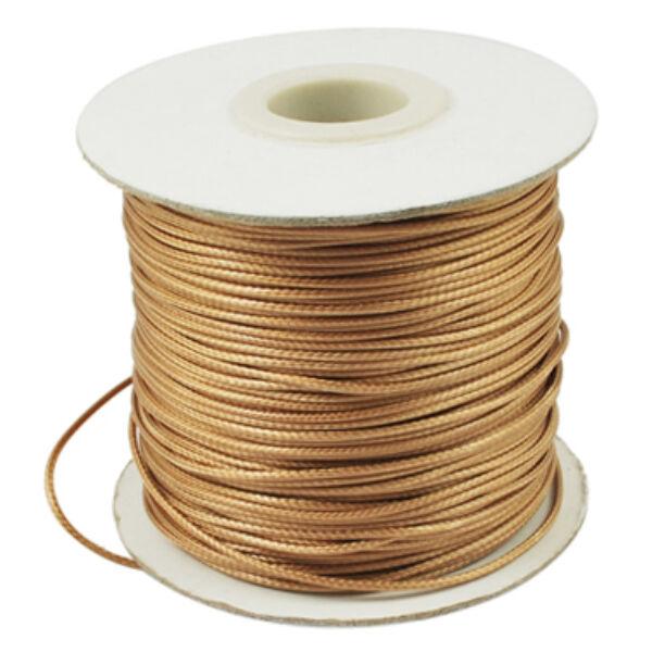 Arany színű viaszolt szál (1mm)