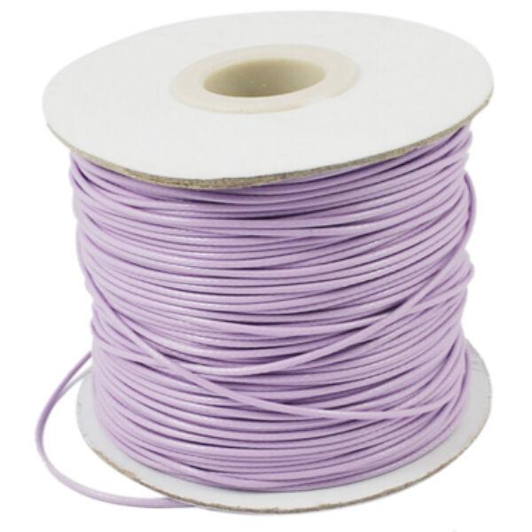 Halvány lila viaszolt szál (1mm)