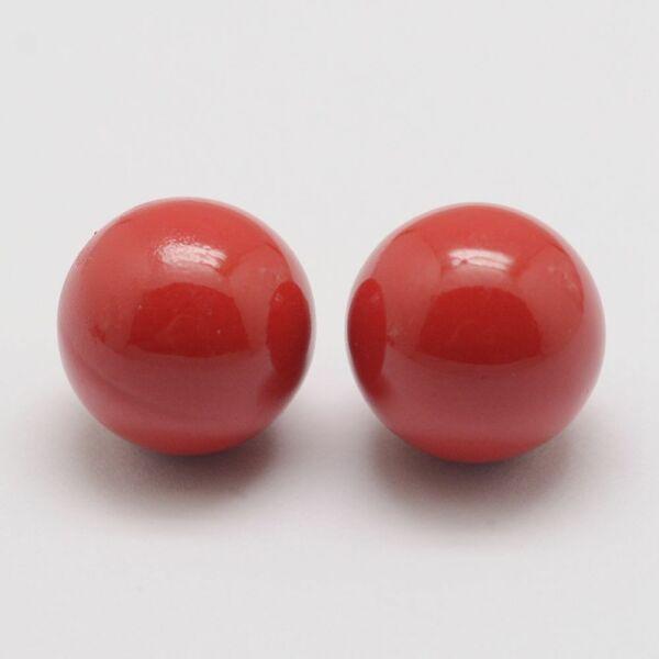 Angyalhívóba való csengő piros színű golyó (16mm)