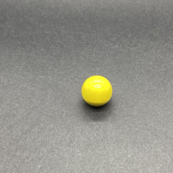 Angyalhívóba való csengő sárga golyó (16mm)
