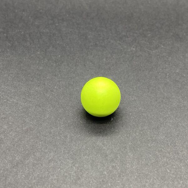 Angyalhívóba való csengő neon zöld golyó (16mm)