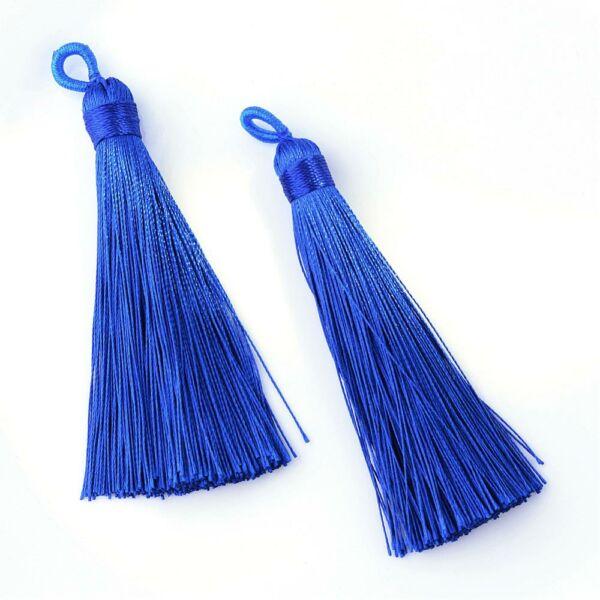 Kék színű zsinórbojt (85mm)