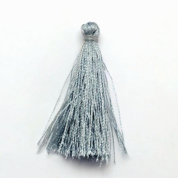 Szürke színű zsinórbojt (40mm)