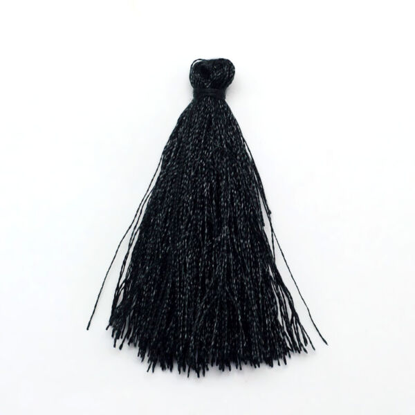 Fekete színű zsinórbojt (35mm)
