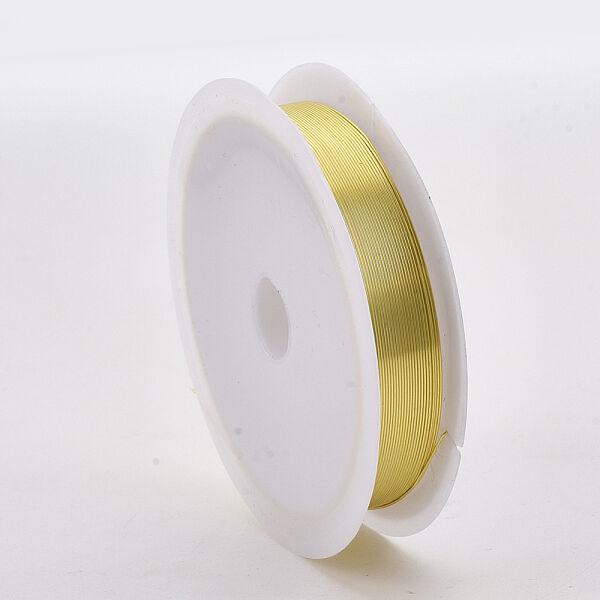 Világos arany színű ékszerdrót (0,3mm/15,6m)