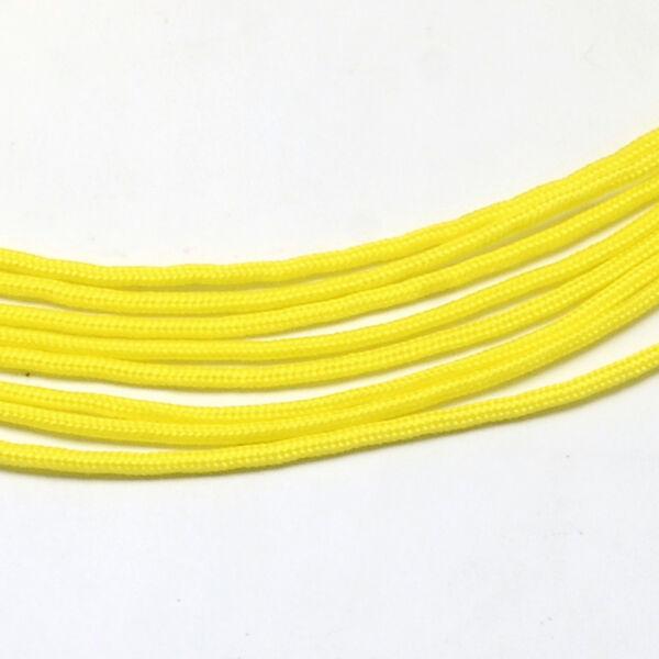Sárga színű paracord zsinór (2mm)