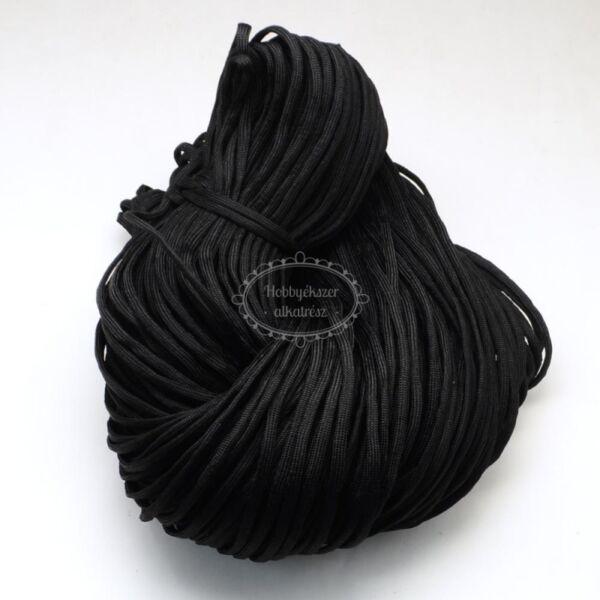 Fekete színű paracord zsinór (4mm)