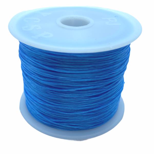 Világos kék elasztikus damil/0,8mm (1m)