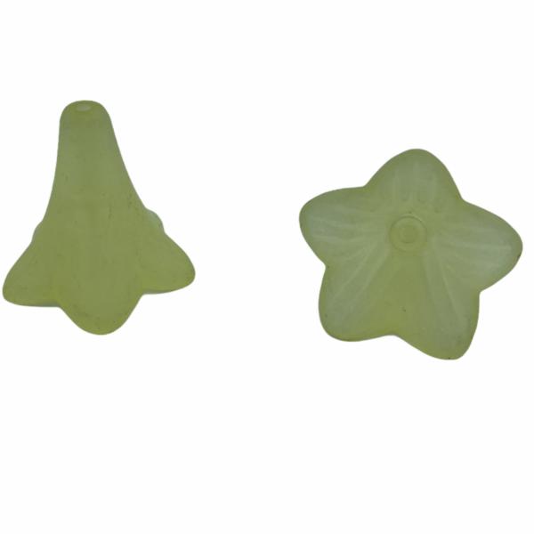 Citromsárga harangvirág (21x23mm)