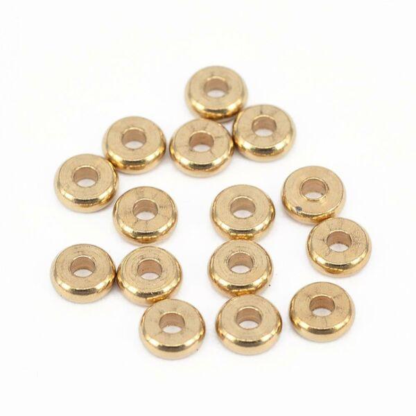 10db Arany színű köztes (6x2mm)