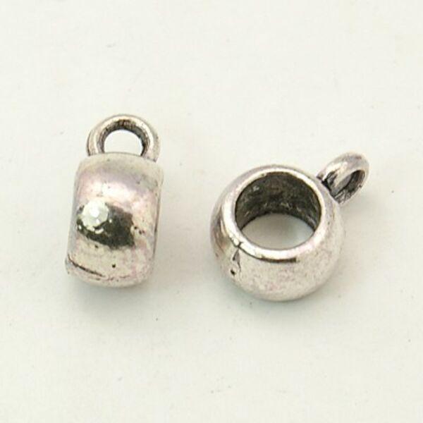 Antikolt ezüst színű medáltartó (8x5mm)